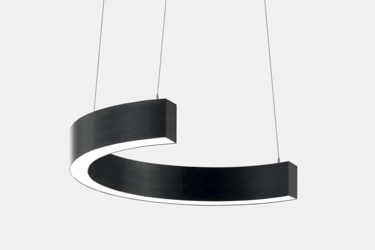 Серия Ring-C. Светодиодный светильник-полукольцо